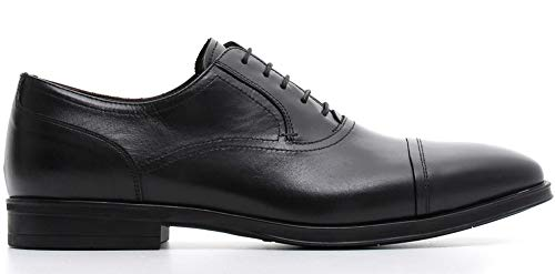 Schwarzem AUS Nero Klassische A800400 NEROGIARDINI SCHNüRSCHUHE 0400 Giardini Schuhe 100 Nero Leder Herren pSTvapq