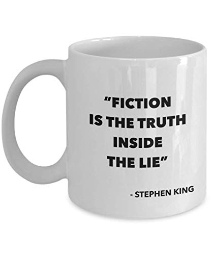 Horror Author Coffee Mug Quote Movie Books Women Man Colleague Best Friend Coworker Birthday Christmas Appreciation Valentine Birthday Idea Gift -