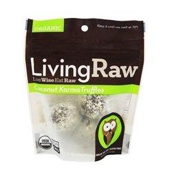 Living Raw Organic Truffles Coconut Karma (12x1.64 Z )