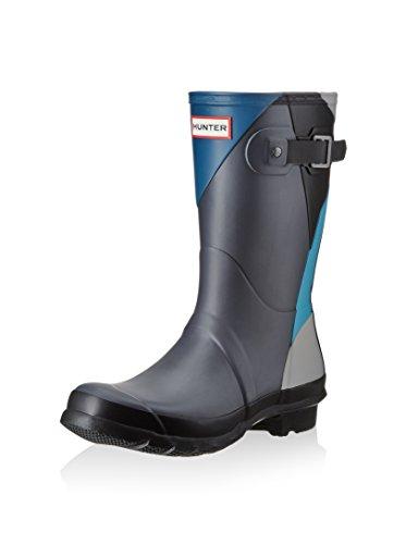 Hunter Botas de agua Wmn Org Short Dazzle Azul Oscuro / Azul EU 40/41 (UK 7)