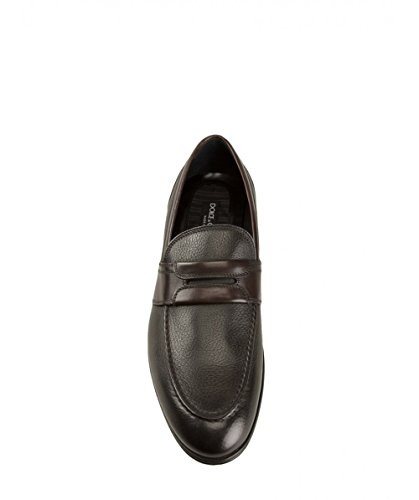 Uomo Mocassini Gabbana Marrone amp; Pelle CA6302AP104BROWN Dolce Ctqnz6Up