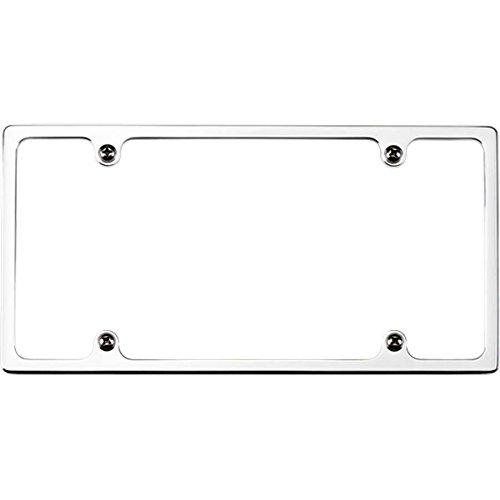 Billet Specialties Recessed Slimline Polished License Plate Frame P/N ()
