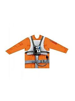 DISBACANAL Camiseta Luke Skywalker Adulto - Único, XL