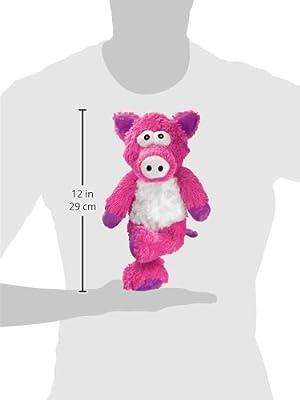 KONG Cross Knots Pig Toy, Medium/Large