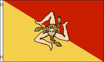 Sicily Official Flag - Miami Int