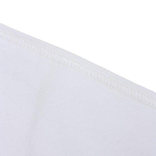 Amazon.com: eDealMax Patrón Floral toalla Suave del rectángulo peinados de algodón toalla de baño: Home & Kitchen