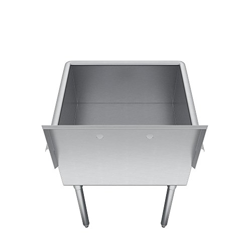 Elkay  Compartment Professional Grade Commercial Kitchen Stainless Steel Sink