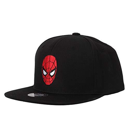 WITHMOONS Marvel Avengers Infinity War Spider Man Baseball Cap HL21114 (Black) ()