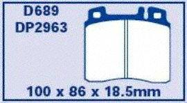 EBC Brakes DP2963 Greenstuff 2000 Series Sport Brake Pad
