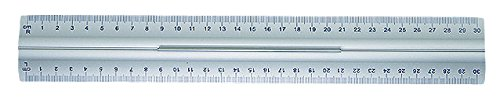 30 opinioni per Wedo 0525235 Righello con Impugnatura per Destri e Mancini, 30 cm, Alluminio