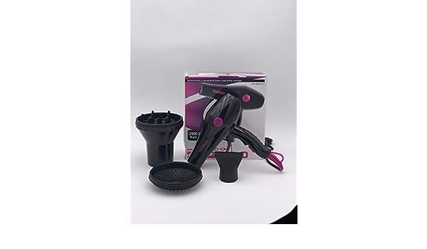 Kit secador + Difusor | secador giubra Eco Jet 2.0 2000 W - Difusor Universal Doble: Amazon.es: Belleza
