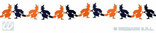 Deko Girlande Hexen Hexengirlande Halloween - -