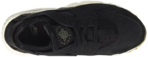 Run Noir Chaussures black Gymnastique Nike Light Huarache Air Femme Sd De Deep Greensailgum Brown TBn1E8n