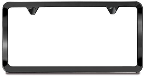 Black Pearl License Plate Frame