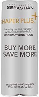 2 Pack Shaper Plus Hair Spray 10.6 oz -