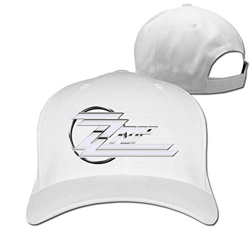 Phyllis Cissie Z-Z-Top Rock Band Classic Unisex Printing Baseball Profile Hat White