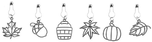 Karen Foster Charms (Karen Foster Design, Scrapbooking and Craft Embellishment Charms, Autumn)