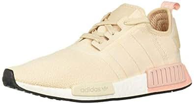 adidas Originals Women's NMD_R1 Running Shoe, Linen/Linen/Vapour Pink, 5 M US