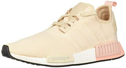 adidas Originals Women's NMD_R1 Running Shoe, Linen/Linen/Vapour Pink, 9 M US