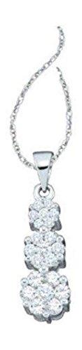 0.5 Ct Diamond Pendant - 9