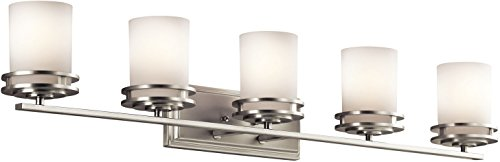 Kichler 5085NI Bath 5-Light, Brushed Nickel