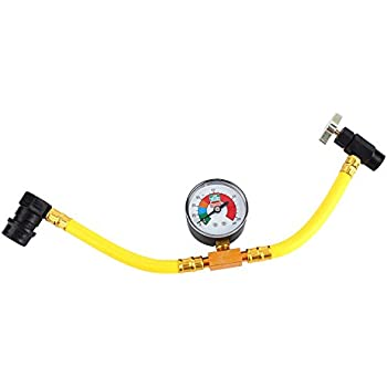 auto ac recharge amazoncom r134a refrigerant recharge hose 12 can tap car air
