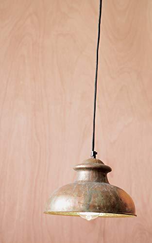 Kalalou Pendant No. 8 - Antique Rustic ,Copper ,10L x 10W x 6H