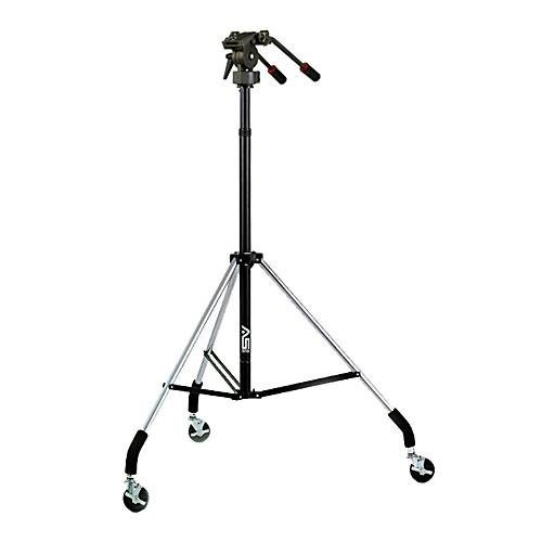 Smith-Victor Dollypod V, Wheeled Tripod with Pro-5 Two-way Fluid Head