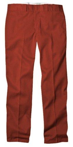 Dickies Men's Original 874 Work Pant, English Red, 36x32