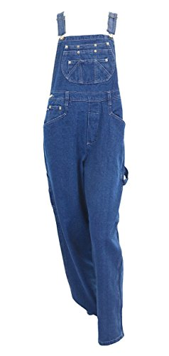 Eagle Women's RURACO Light Blue Denim bib Overalls Size Large ()