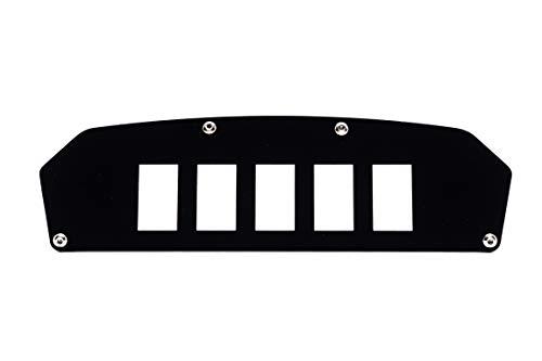 - UTV INC Can Am Commander and Maverick 5 Switch Dash Plate Mounting Panel