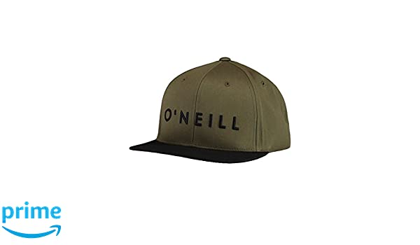 ONeill 8P4144 Gorra, Hombre, marrón (Winter Moss), 0: Amazon.es: Deportes y aire libre