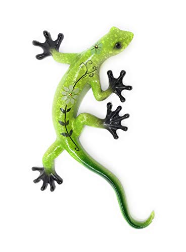 Decorative Gecko, Wall or Tabletop Figurine, 11 Inches Long ()