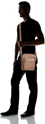 Grey Adulto 135 de Gris Cowboysbag Bolso Hombro Alva Elephant Cuero Bag Grau Unisex de 7xwqF6Hf