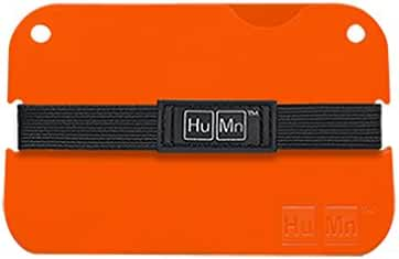 HuMn Mini Slim Polycarbonate Wallet | Personalized Thin Lightweight Wallet Perfect Organizer for Money, Business and Credit Cards | Great for Men and Women 2016