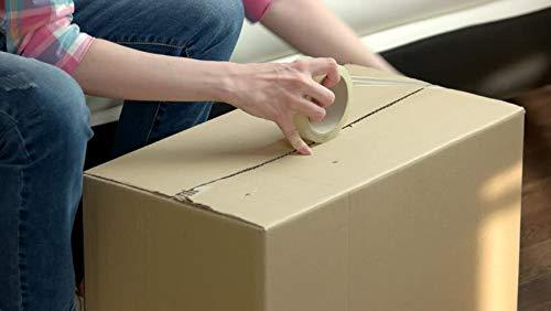 Palucart/® 6 rotoli nastro adesivo 48x66 per imballaggio colore TRASPARENTE