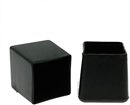 10 pezzi 25 x 25 mm Quadrato Sedia Piedi, piedini in