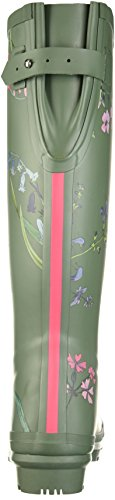 Joules Womens Wellyprint Rain Boot Laurel Botanical