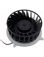 YUYAN Wewnętrzny wentylator chłodzący DC12V1.9A kompatybilny z konsolą PS5 23 łopatkowy wentylator chłodzący do cichego wentylatora Host