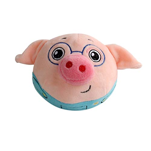 Baby Adorable Talking Record Jumping Cute Pigs Plush Toy Singing Recording Creative Toys for Kids and Adults -