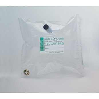 (ESS GD0707-7000 Sampling Bags with Combination Valve, 1l)