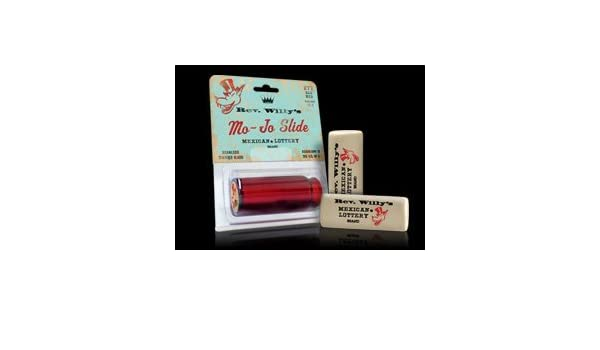 Amazon.com: SLIDES GUITARRA ELECTRICA - Dunlop (RW S11) Reverend Willy´s (Red Mojo) Medium: Musical Instruments