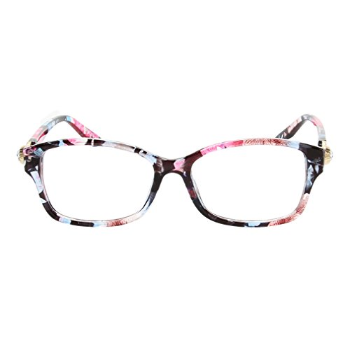 G&T Lady Flat Mirror Fashion Elegant Student Style Clear Lens - Gradientlens