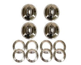 Carol Wright Gifts 8124 Electric Range Knobs, Chrome by Carol Wright Gifts