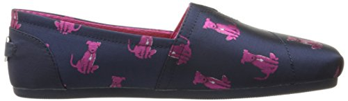 Skechers BOBS Women's BOBS Plush-Sit Stay Flat Navy cheap sale looking for jhjki
