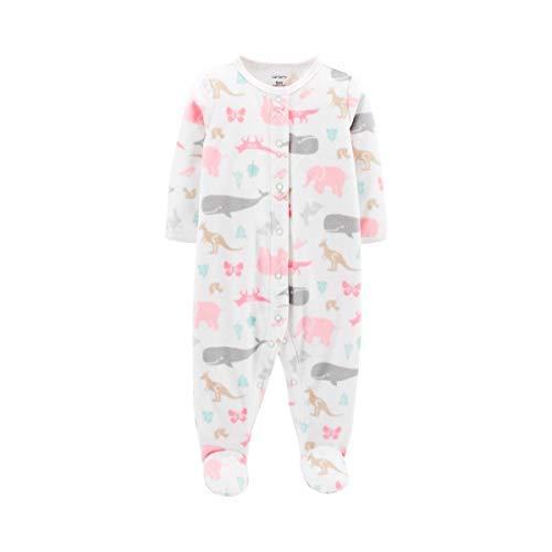Flower Tiger Newborn Baby Boys Girls Little One Letter Short Sleeve Romper Bodysuit Playsuit Outfits