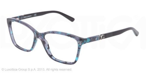 1b2b26f33fd Image Unavailable. Image not available for. Colour  Dolce   Gabbana DG3153P  Eyeglasses-2689 Blue Marble-52mm