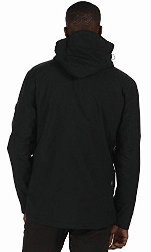 Hombre Wentwood II Black Black Regatta Impermeable Chaqueta qpvgRgwI