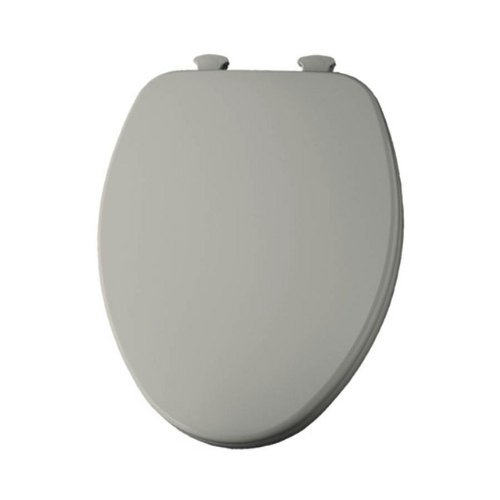 Church 585EC 006 Wood Toilet Seat with Cover, Bone
