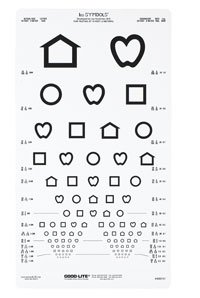1083951 Eye Chart Kindergarten Lea Symbol Ea Good-Lite Co -800721
